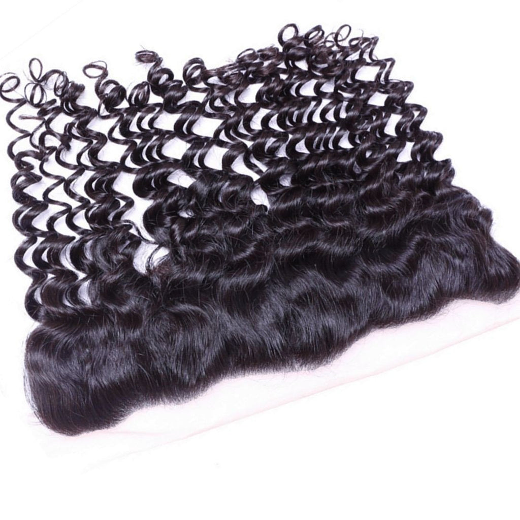 Deep Curly Lace Frontal Lace Frontal - Weave Got It Canada