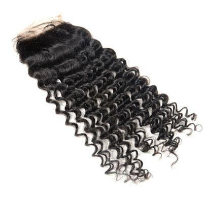 Kinky Curly Silk Closure Silk Closure - Weave Got It Canada