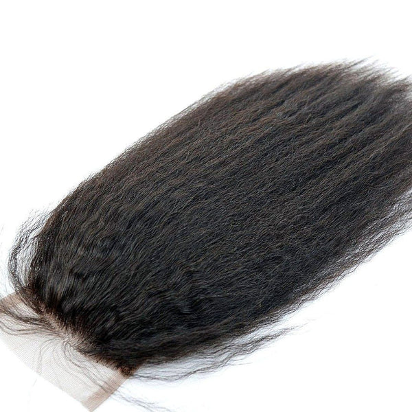 Kinky Straight Silk Closure - Weave Got It Canada -  - Silk Closure - Weave Got It Canada - 1