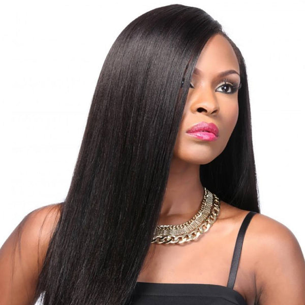 Yaki Straight Clip-Ins Clip In Hair Extensions - Weave Got It Canada