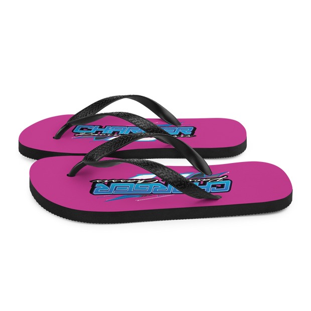Charger Pink Flops
