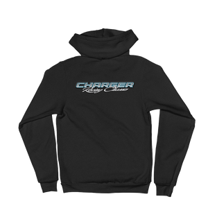 Charger on back Hoodie sweater