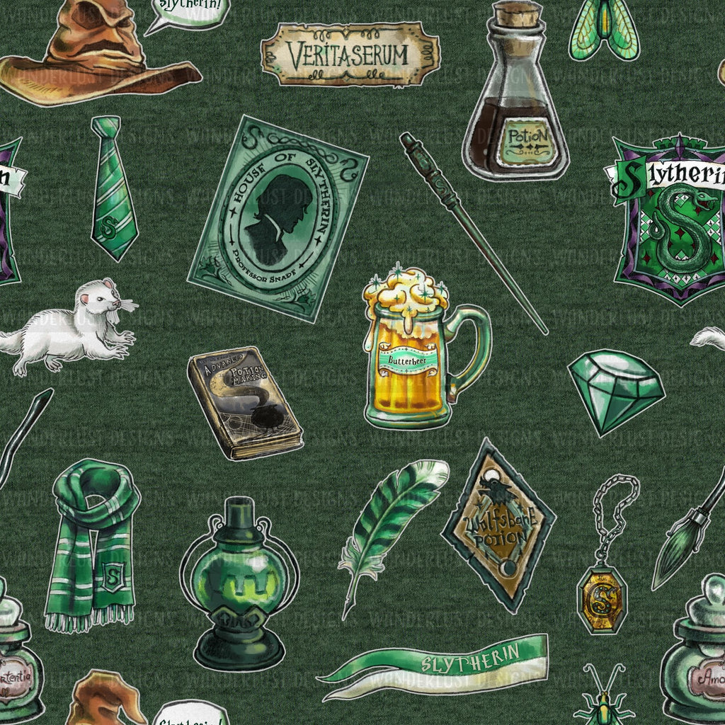 Slytherin Print - Magical Round