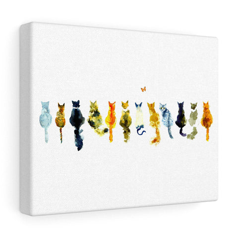 Cats Canvas Gallery Wrap