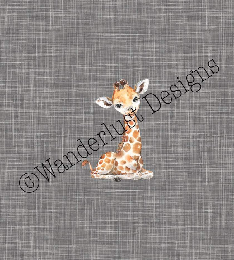giraffe panel fabric cotton lycra bamboo brushed poly canvas woven french terry swim athletic