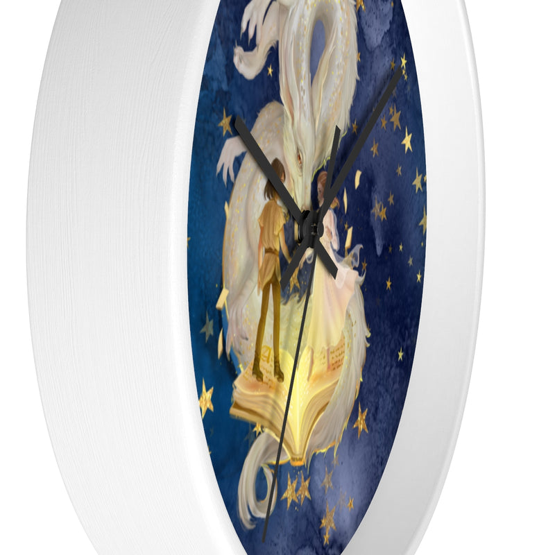 NeverEnding Story Wall Clock - Free Domestic Shipping