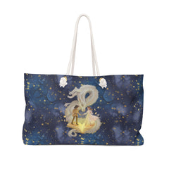 boy girl dragon weekend bag