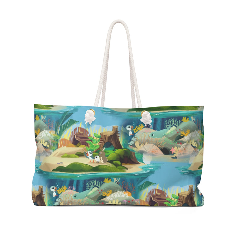 Puffin Rock Weekender Bag - Free Domestic Shipping