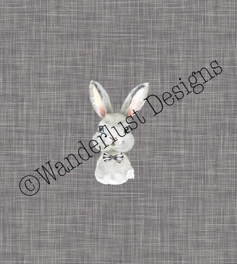 bunny rabbit bunnyrabbit panel fabric cotton lycra spandex woven french terry bamboo squish minky canvas athletic brushed poly