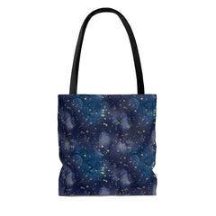 boy girl dragon tote bag