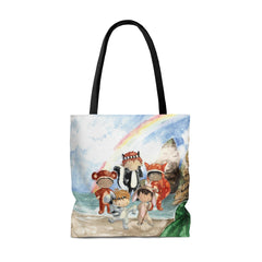 Peter Pan, Captain Hook & the Lost Boys Tote Bag - Free Domestic Shipping!