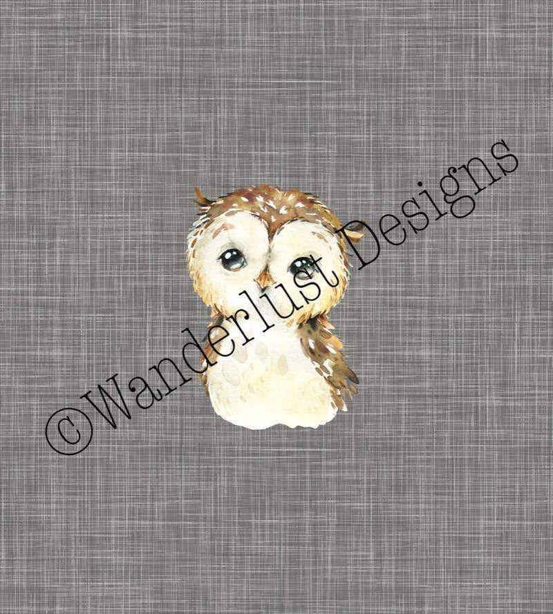 owl fabric cotton lycra spandex woven french terry bamboo squish minky canvas athletic brushed poly