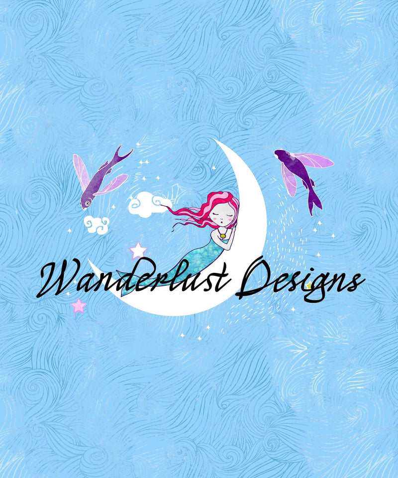 Watercolor Mermaid Panels