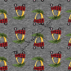 cozy coupe christmas fabric