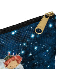 boy girl london zipper bag