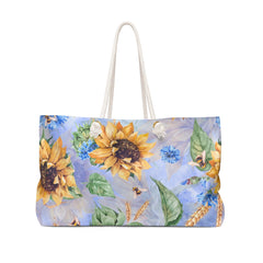 Sunflower Weekender Bag - Free Domestic Shipping