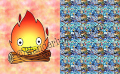 Calcifer Blanket Panels - January 2020 Preorder