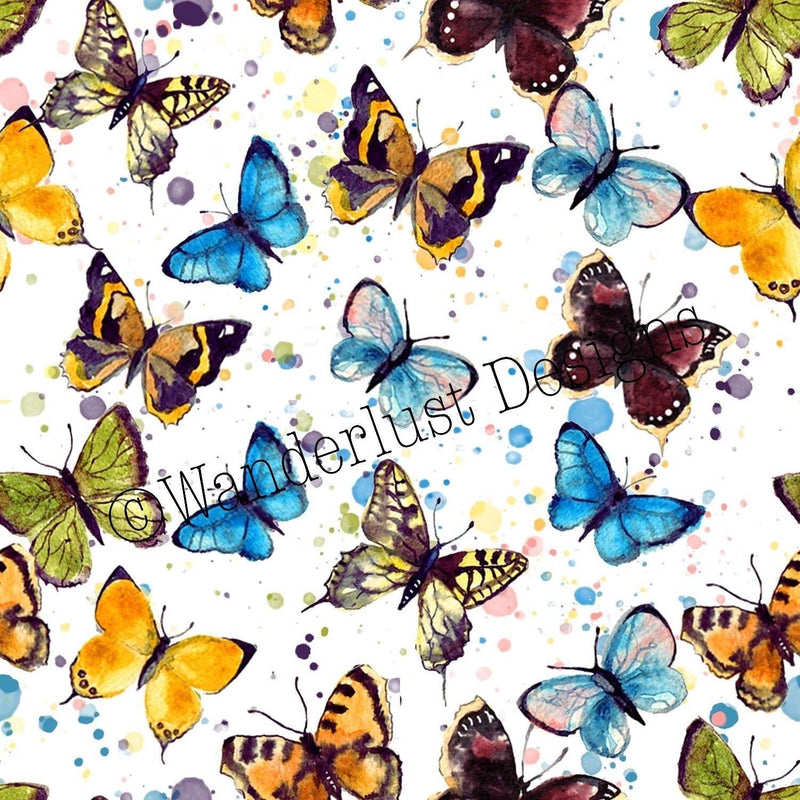 Watercolor Butterflies - Summer 2020 Reprints