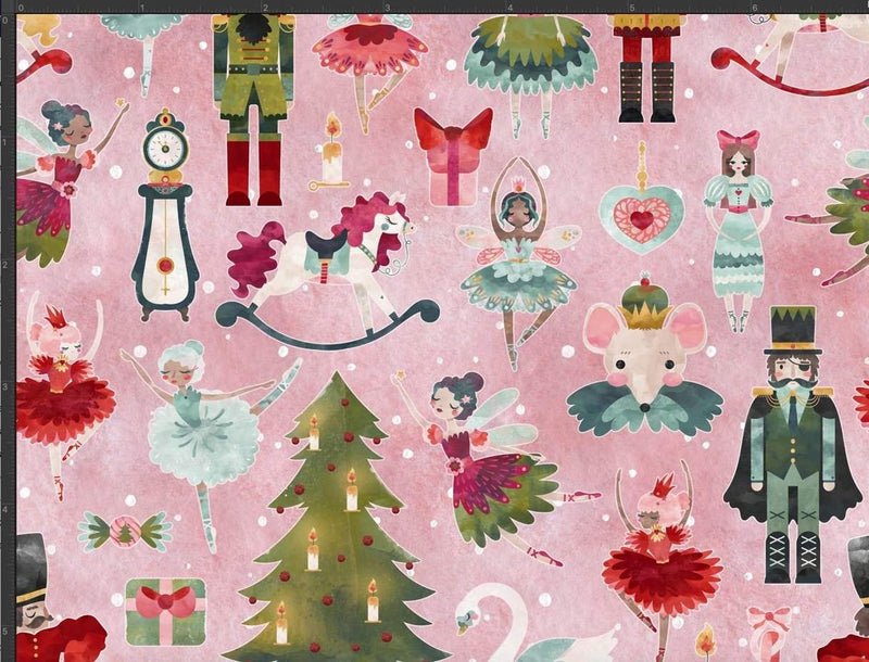 Pink Nutcracker Small Scale - Winter 2020 Preorder: Part 2