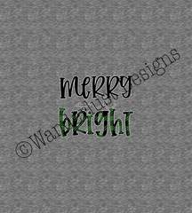 Green Merry and Bright Panel - Winter 2020 Preorder: Part 2