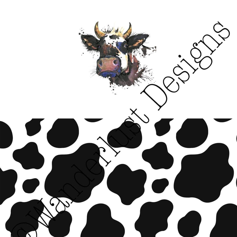 Cow Diaper Panels - Summer 2020 Reprints