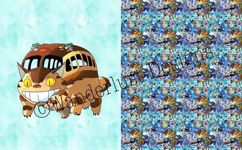 Catbus Blanket Panels - January 2020 Preorder