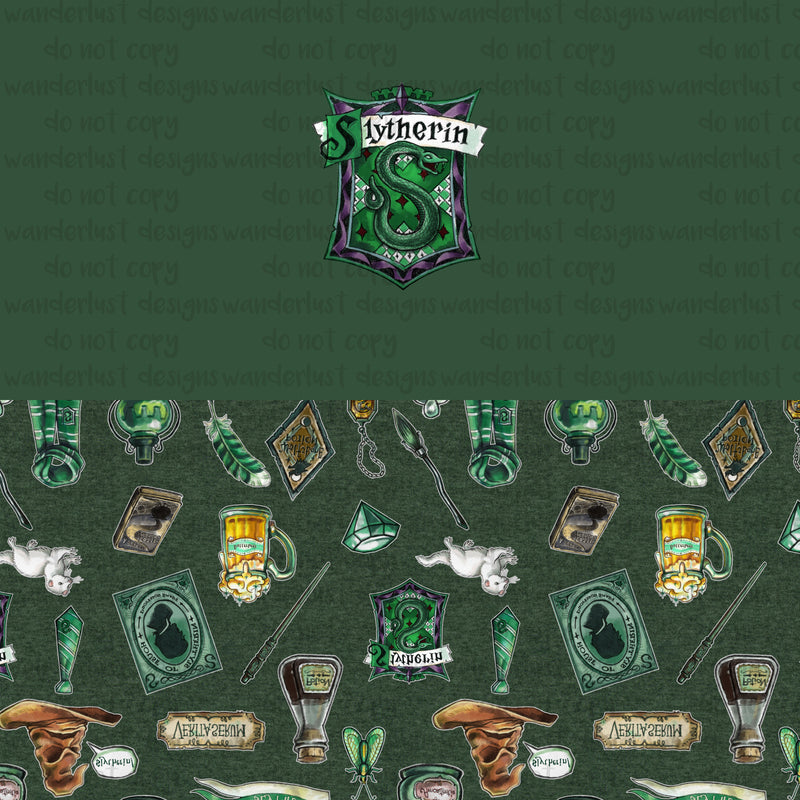 Slytherin Panels - Halloween 2019