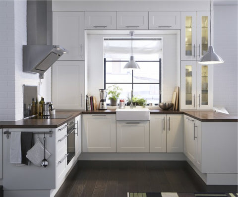 Decorating with White: Ikea Kitchen