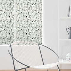 stickpretty willow privacy window film in black