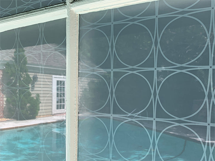 midcentury privacy window film by stickpretty