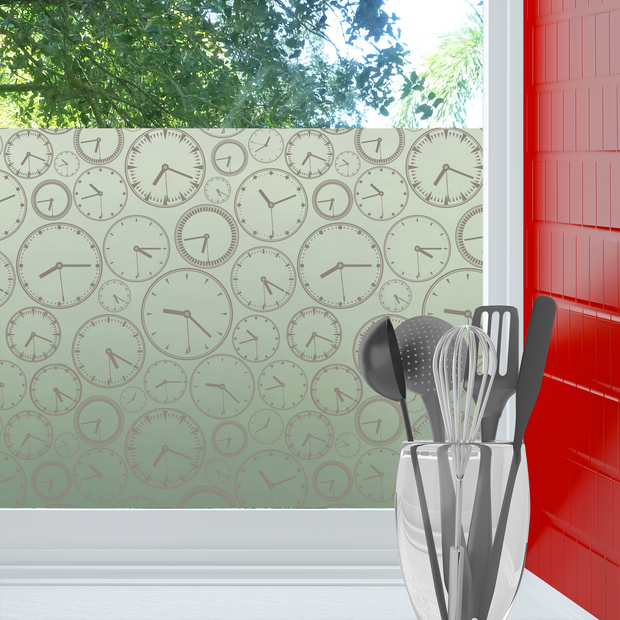About Time Privacy Window Film — For Home Window Tinting - StickPretty