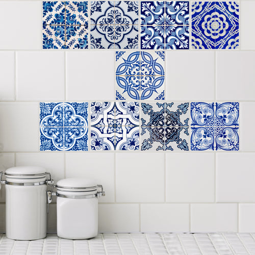 Azul Collection Tile Decals