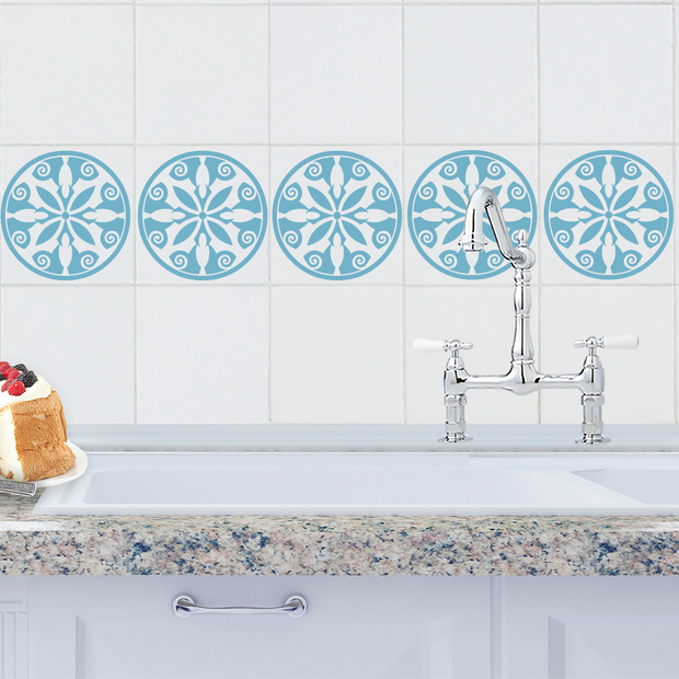 Breton Tile Decals - StickPretty