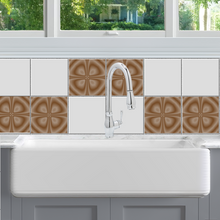 Optic Clover Tile Decals