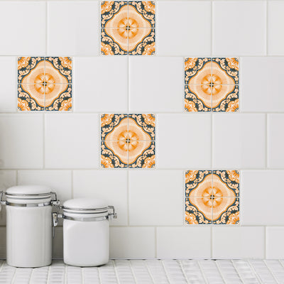 Mosaic Hafa Tile Decals - StickPretty