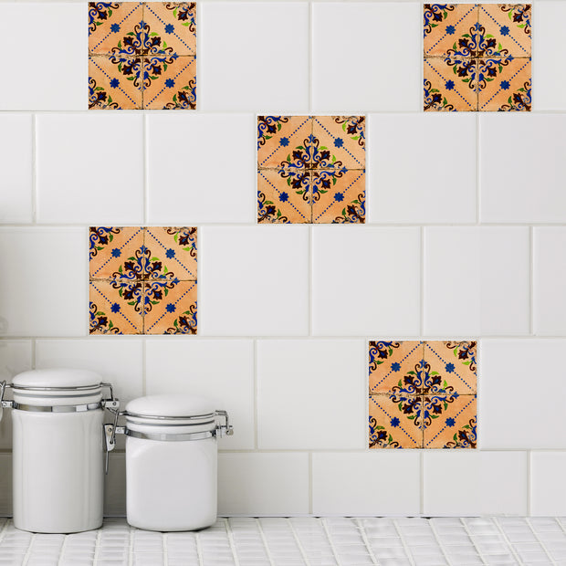 Mosaic Marais Tile Decals - StickPretty
