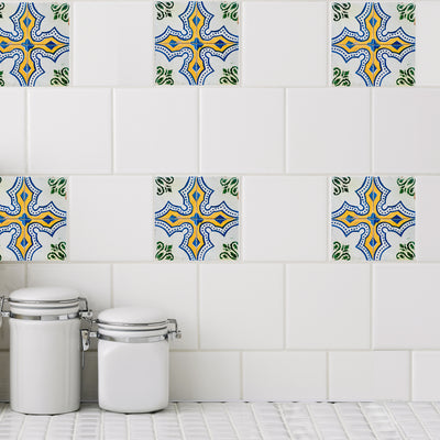 Mosaic Palais Tile Decals - StickPretty