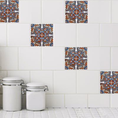 Mosaic Raval Tile Decals - StickPretty