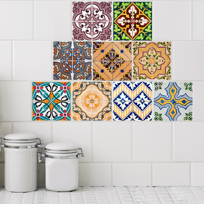 Café Collection Tile Decals - StickPretty