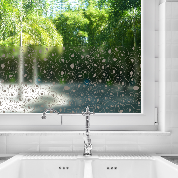 Calla Privacy Window Film — For Home Window Tinting - StickPretty