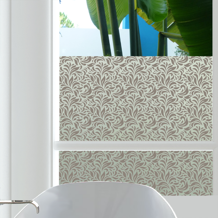 Carlyle Decorative Privacy Window Film — Home Window Tinting - StickPretty