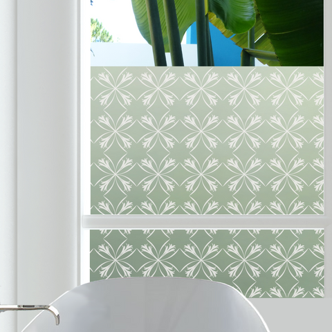 Deco Lillies Window Film