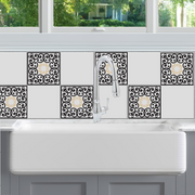 Edwardian Scroll Tile Decals - StickPretty