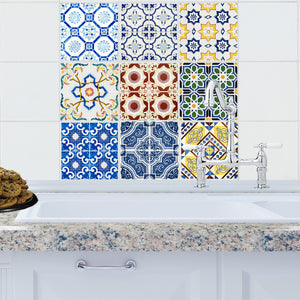 Espana Collection Tile Decals