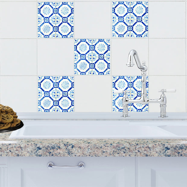 Mosaic Madrid Tile Decals - StickPretty