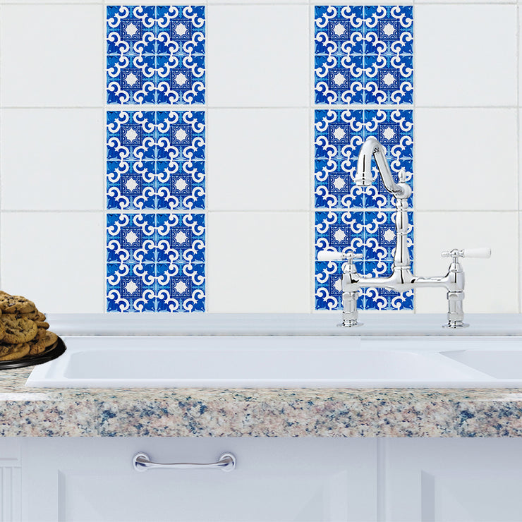 Mosaic Majorca Tile Decals - StickPretty