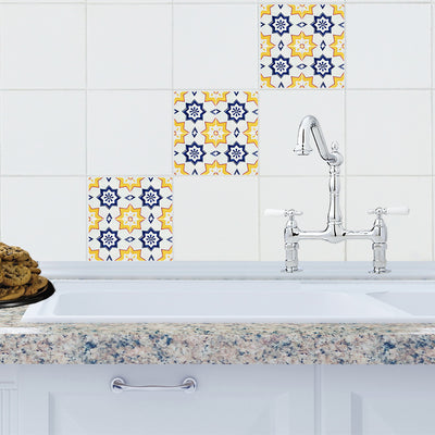 Mosaic Malaga Tile Decals - StickPretty