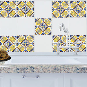 Mosaic Valencia Tile Decals