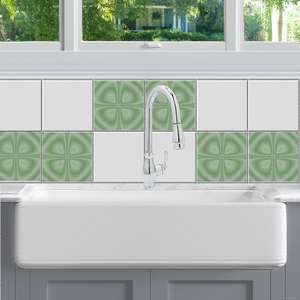 Optic Clover Tile Decals - StickPretty