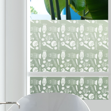 Fishy Fish Privacy Window Film — For Home Window Tinting - StickPretty